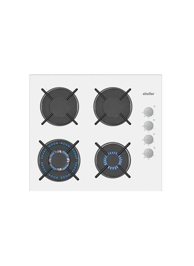 Simfer Simfer 3509 Düğmeden Dokunmatik Ateşleme Sistemli Cam Woklu Ankastre Ocak Renkli